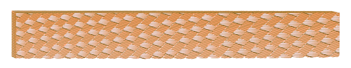 High flexible copper rope flat